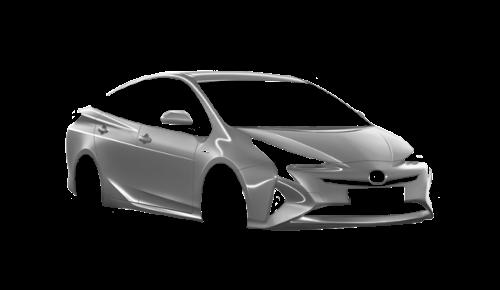 Цвета кузова Prius