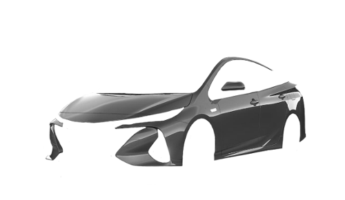 Цвета кузова Prius Plug-in Hybrid